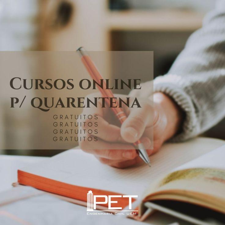 cursos online para quarentena